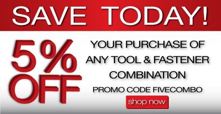 FIVECOMBO 5% Off Code