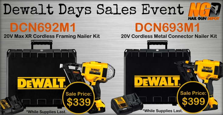 Dewalt Days Deal Discount New