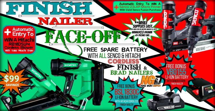 Finish Nailer Face-Off