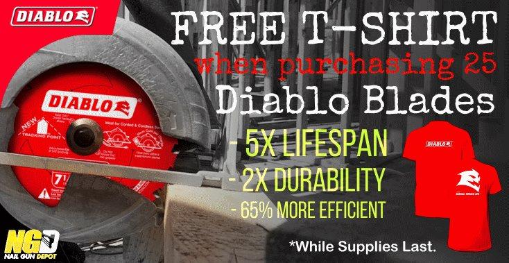 Diablo T-Shirt Promo
