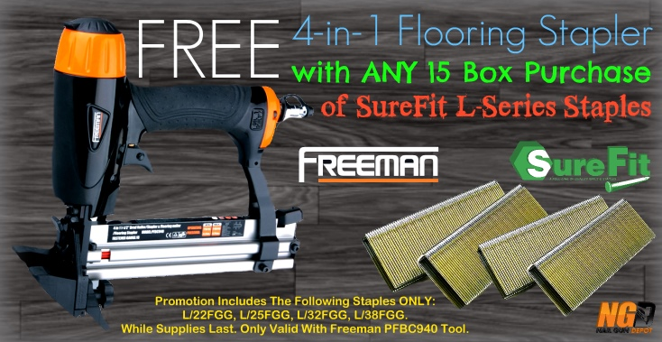 Freeman Free Tool L-Staple Deal