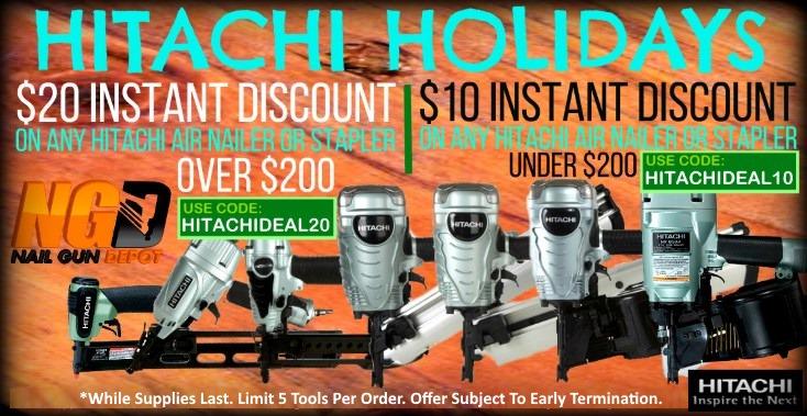 Hitachi Instant Discount