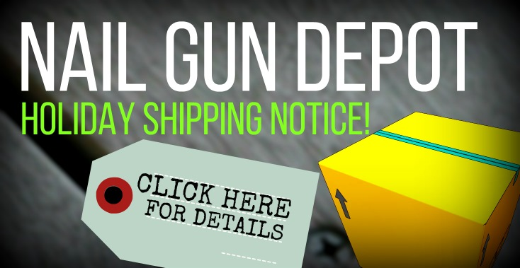 Holiday Shipping Notice
