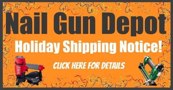 Holiday Shipping Notice