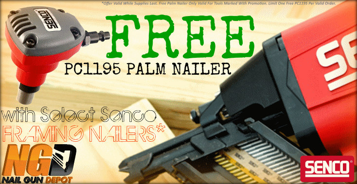 Senco Framing Nailer Palm Promo
