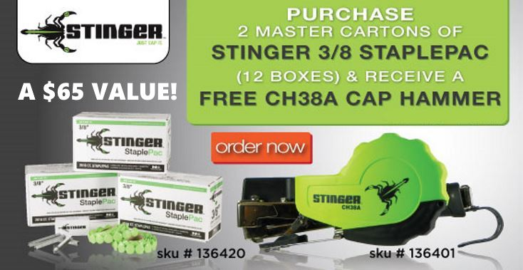 Stinger Cap Hammer Deal