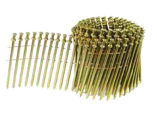 Duplex Nails - 15 Degree Wire Coil