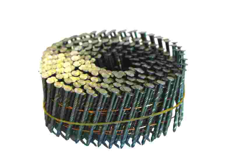 15 Degree Wire Coil Framing Nails