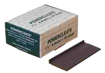 Flooring Nails - 20 Gauge E Shaped PowerCleats