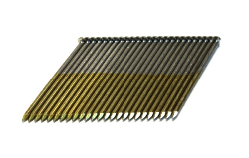 Framing Nails - 28 Degree Clipped Head Wire Strip