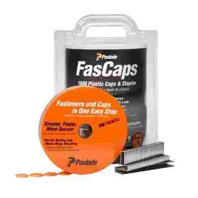 FasCap Series 3|8 Crown 18 Gauge Staples w|Caps