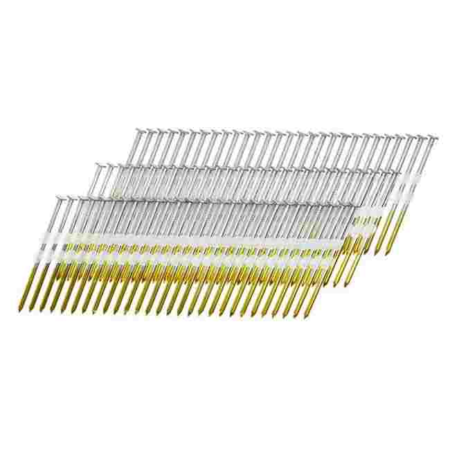 Framing Nails - Full Round Head Plastic Strip