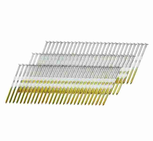 Framing Nails - Full Round Head Plastic Strip Nails