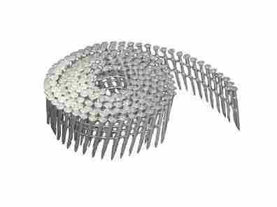 15 Degree Wire Coil Ballistic Steel Pin Nails