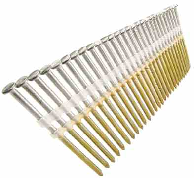 22 Degree Plastic Strip - Jumbo Nails
