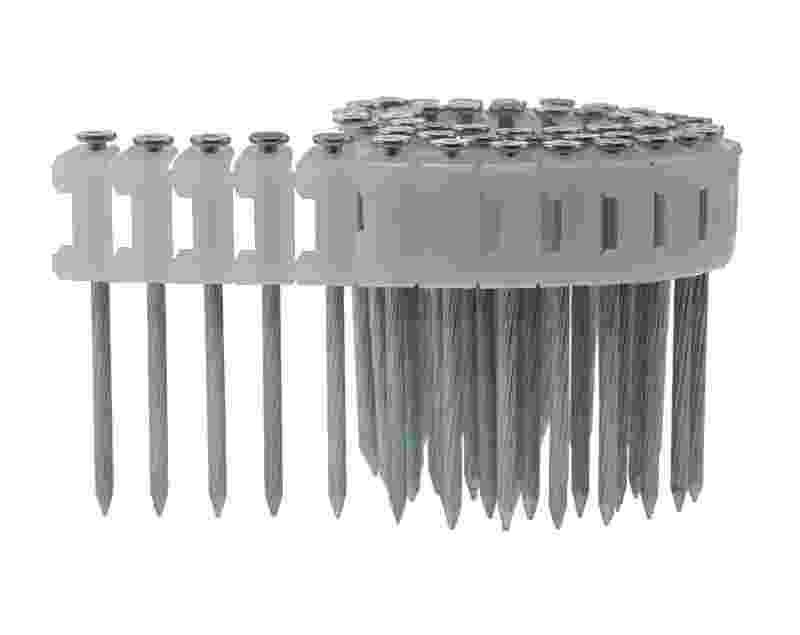 Concrete Pin Nails - 0 Degree Plastic Collated Coil Nails