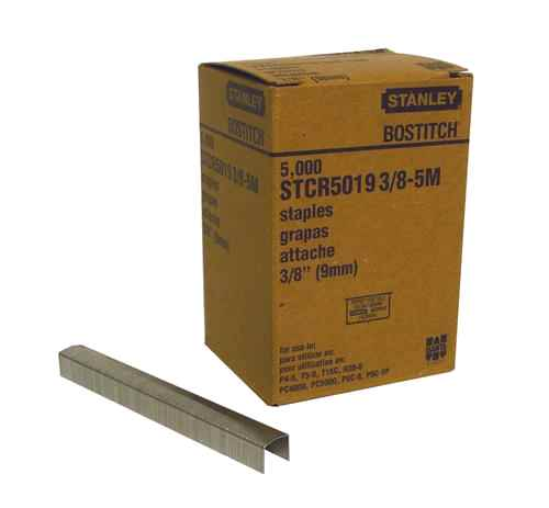 STCR5019 Series - 3|8 Crown Staples