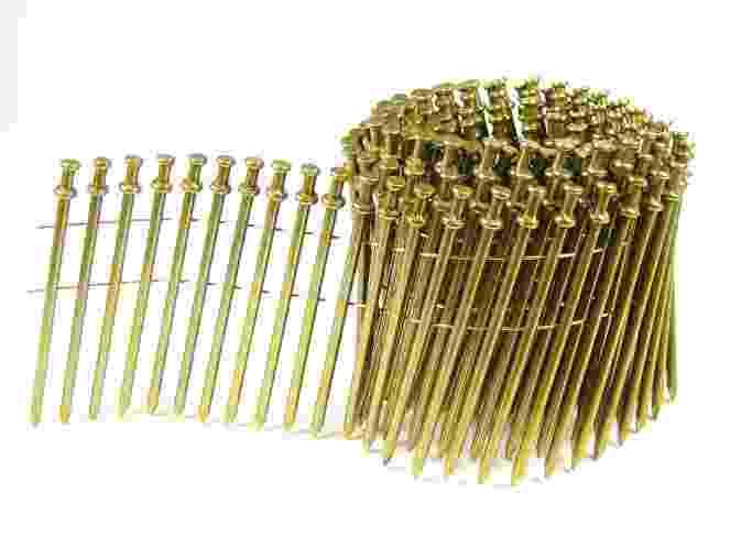 Duplex Nails - 15 Degree Wire Coil