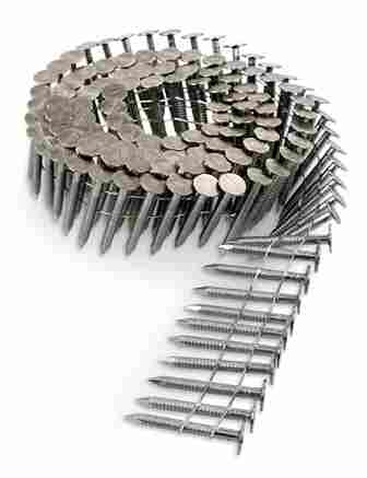 Roofing Nails - 15 Degree Stainless Steel Coil Roofing Nails
