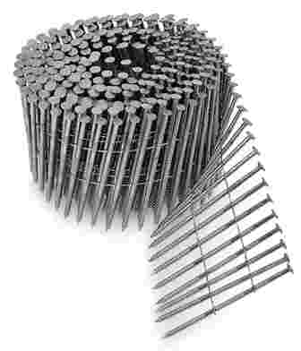 Siding Nails - 15 Degree Stainless Steel Coil Siding Nails