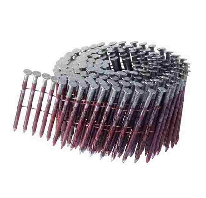 15 Degree Whisper Grip Coil Sheathing Nails