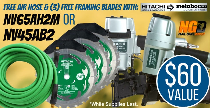 Metabo HPT Roofing and Siding Deal