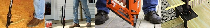 Nail Gun Depot Decking & Subfloor Applications