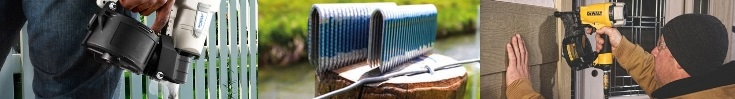 Nail Gun Depot Siding and Fencing Applications