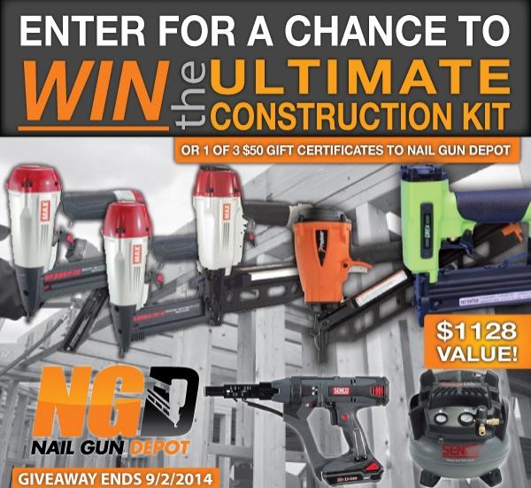 Nail Gun Depot Announces Ultimate Construction Kit Giveaway   Nail ...