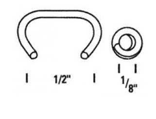 Bosttich hog rings