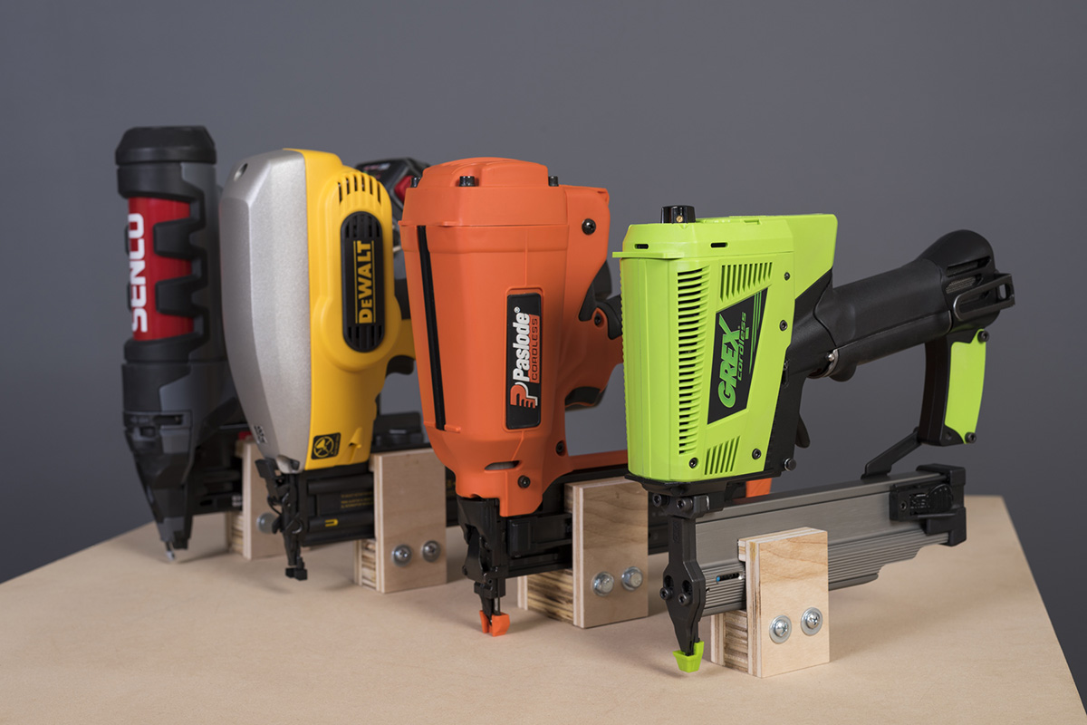 Cordless Finish Nailer Comparison