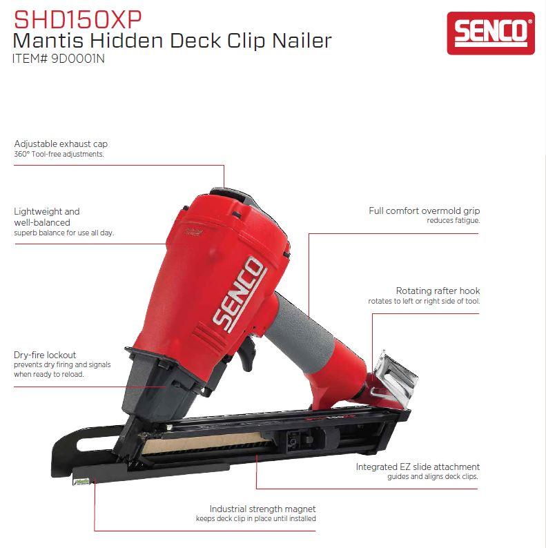 Senco 9D0001N Deckclip Nailer