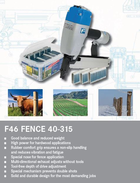 Fasco F46 Fence Stapler