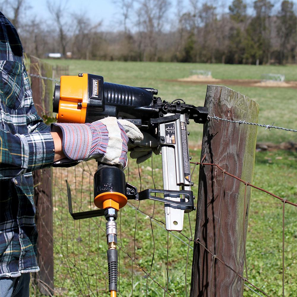 The Fence Stapler Showdown Nail Gun Network