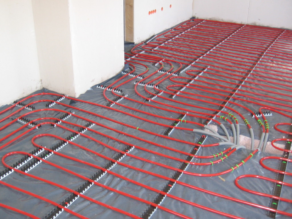 How To Install Radiant Floor Heating Nail Gun Network