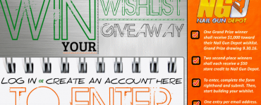 Win Your Nail Gun Depot Wishlist!