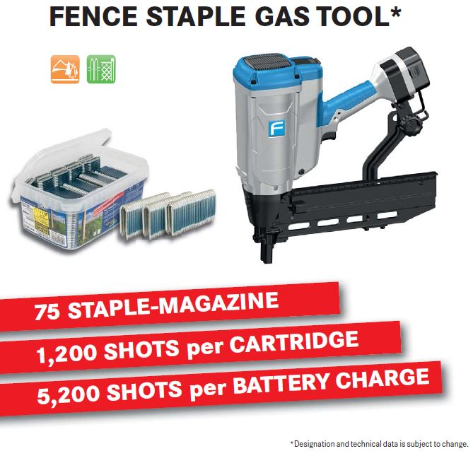 Fasco Cordless Fence Stapler