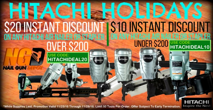 Hitachi Instant Cyber Discount CW 2016 SM