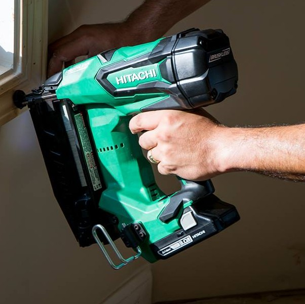 Hitachi Cordless Finish Nailer