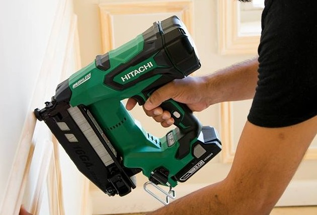 Hitachi S All New 18v Lithium Ion Cordless Finish Nailers