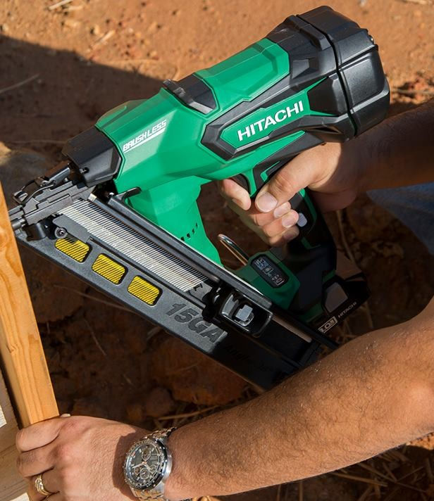 Hitachi Cordless Finish Gun