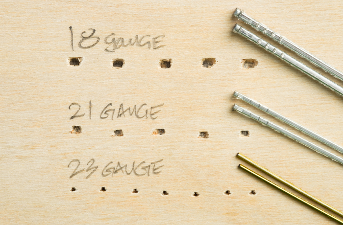 Finish Nail Comparison Chart