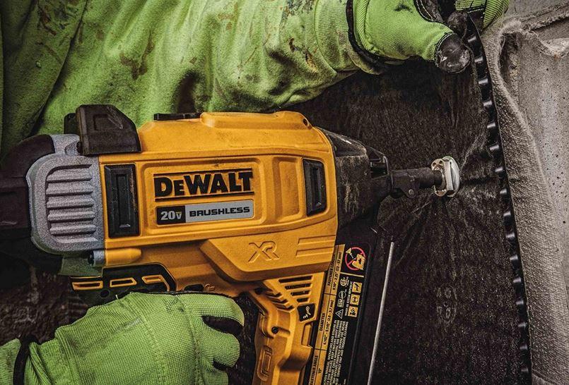 First Look Dewalt Dcn890 Cordless Concrete Pinner Nail