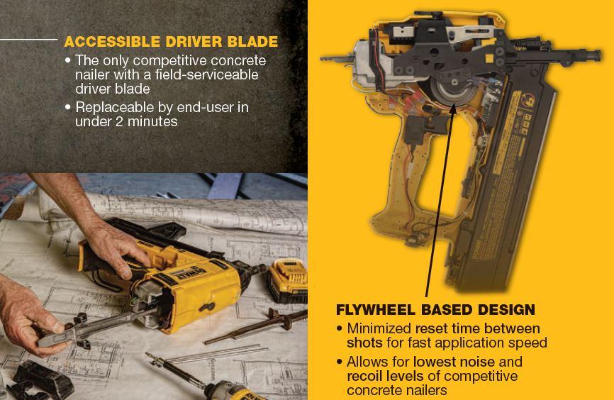 First Look: Dewalt DCN890 Cordless Concrete Pinner | Nail Gun Network