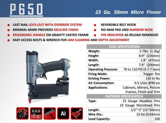 everwin p650 specs