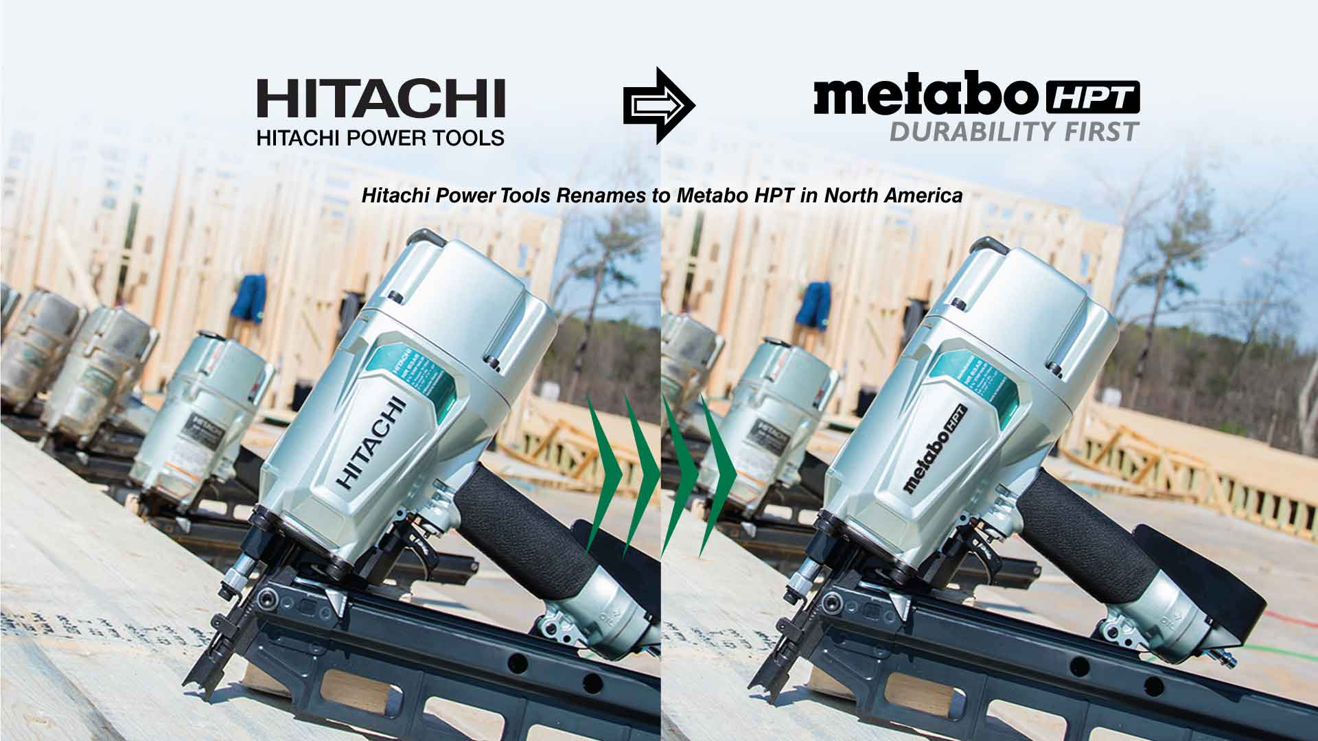 Hitachi Power Tools Renames to Metabo HPT in North America