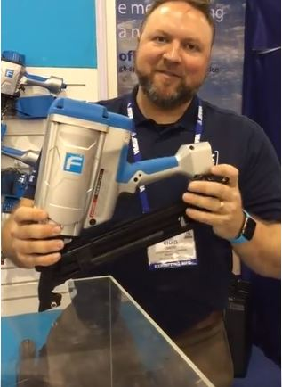 Fasco America shows off the F70G Cordless Joist Hanger Nailer
