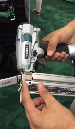 Metabo Hitachi shows off NT50A5 Pneumatic Nailer