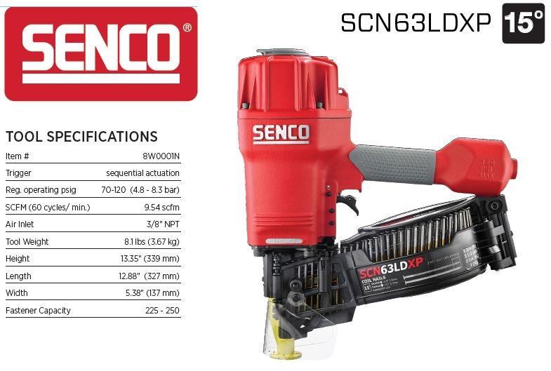 Senco SCN63LDXP