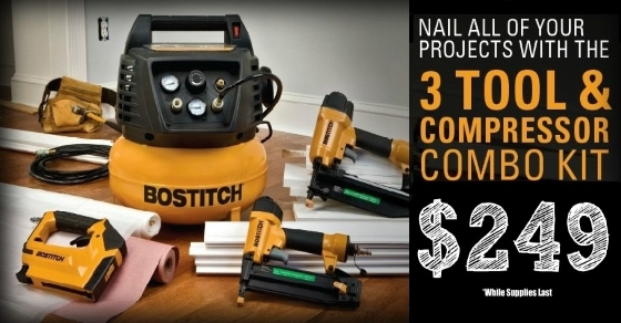 Bostitch 3-Tool Combo Kit